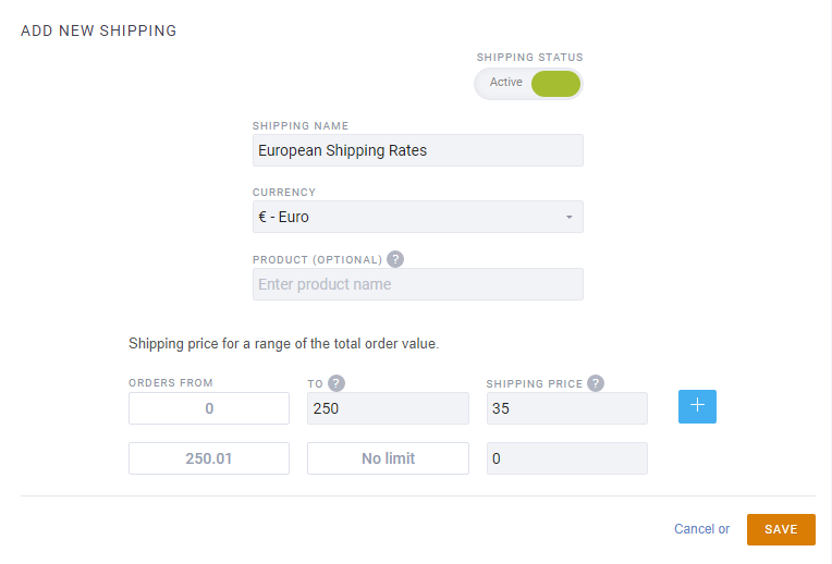 product variants shipping costs customers improved ecommerce